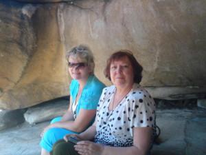 Мама и Галя