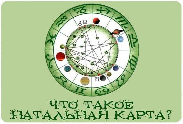 Натальная карта.Заметки астролога.