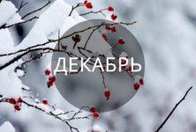 «Астрологический прогноз на декабрь 2018 года». Заметки астролога.