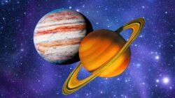 21.12.2020. Значимая небесная конфигурация планет: соединение Юпитера иСатурна. Заметки астролога.